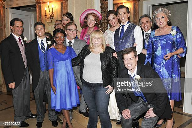 Rebel Wilson visits 'It Shoulda Been You' on Broadway at Brooks Atkinson Theatre on June 20 2015 in New York City