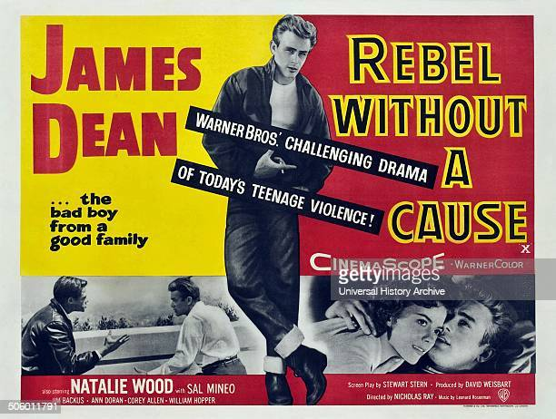 'Rebel without a Cause' a 1955 American drama film starring James Dean