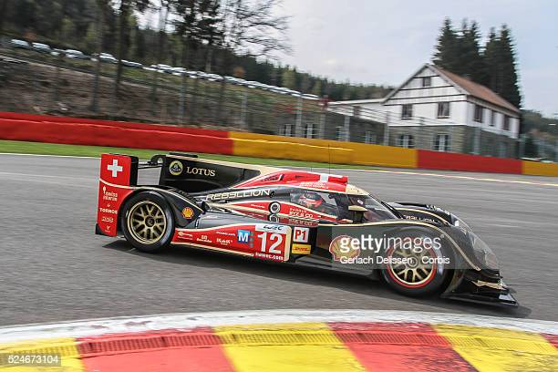 Rebellion Racing Lola B12/60 Coupe Toyota Neel Jani / Nicolas Prost / Nick Heidfeld in action during Free Practice 2 for Round 2 of the FIA World...