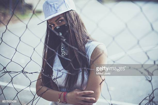rebellious mood - gangster stock pictures, royalty-free photos & images