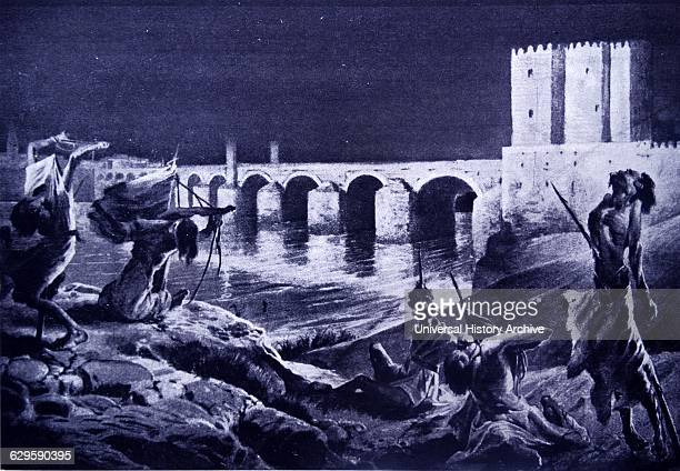 Rebels executed and displayed along the banks of the river Guadalquivir; Cordoba by Al-Hakam I. As Umayyad Emir of Cordoba from 796 - 822; Al-Hakam...
