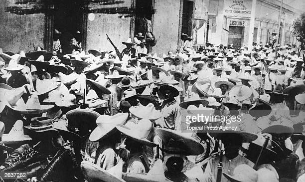 Rebels in Sinaloa Mexico during the Mexican Revolution November 1913