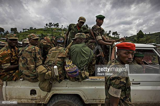 M23 rebels North Kivu DRC 23 November 2008 The Gorilla Sector of Virunga National Park has been occupied by the rebel movement CNDP under rebel...