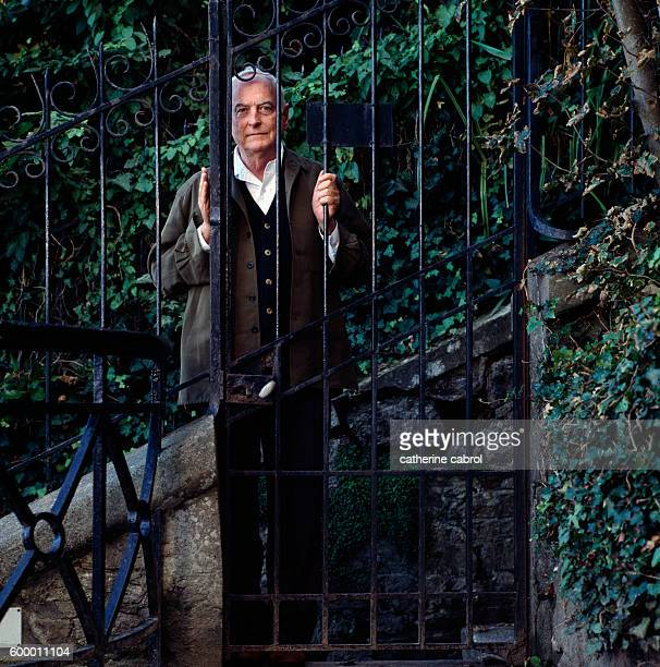'I recall an atmosphere of a quiet day's end Of a director almost muteAnd of a photographer listening in I recall so much unsaid behind this gate'