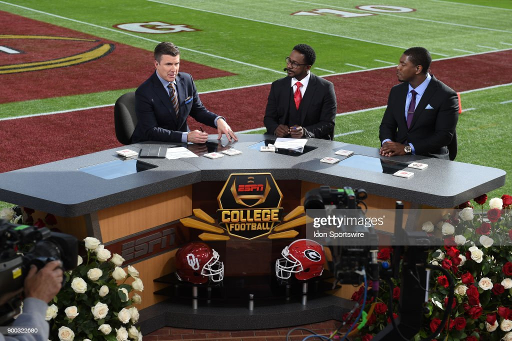 COLLEGE FOOTBALL: JAN 01 Rose Bowl - CFP Semifinal - Oklahoma v Georgia : News Photo