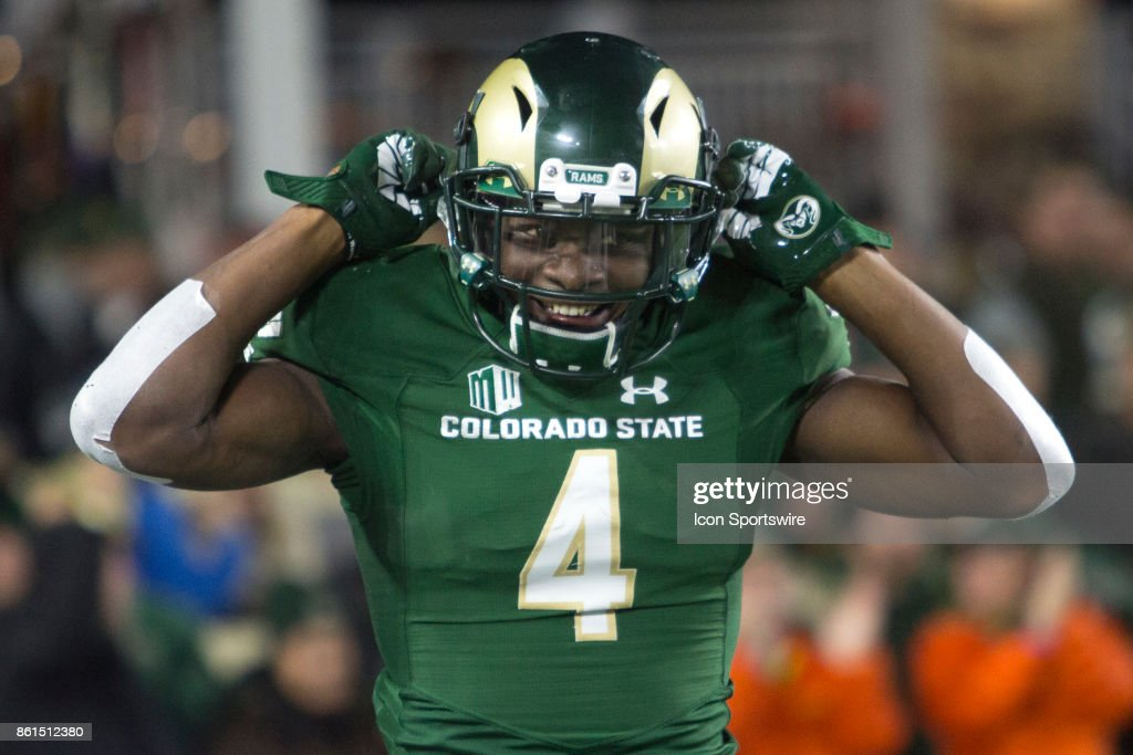 COLLEGE FOOTBALL: OCT 14 Nevada at Colorado State : News Photo