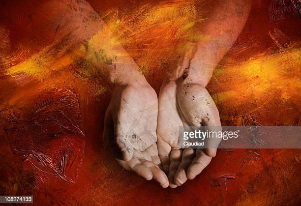 Recevoir les mains