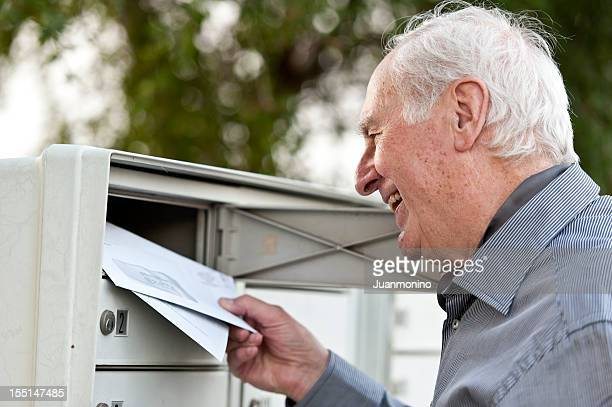 receiving the mail - mail stock pictures, royalty-free photos & images