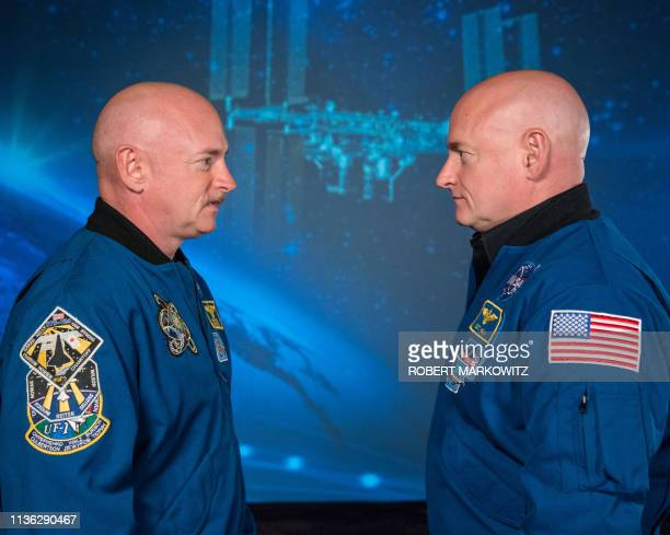 Recent photo released by NASA shows former astronaut Scott Kelly , who was the Expedition 45/46 commander during his one-year mission aboard the...