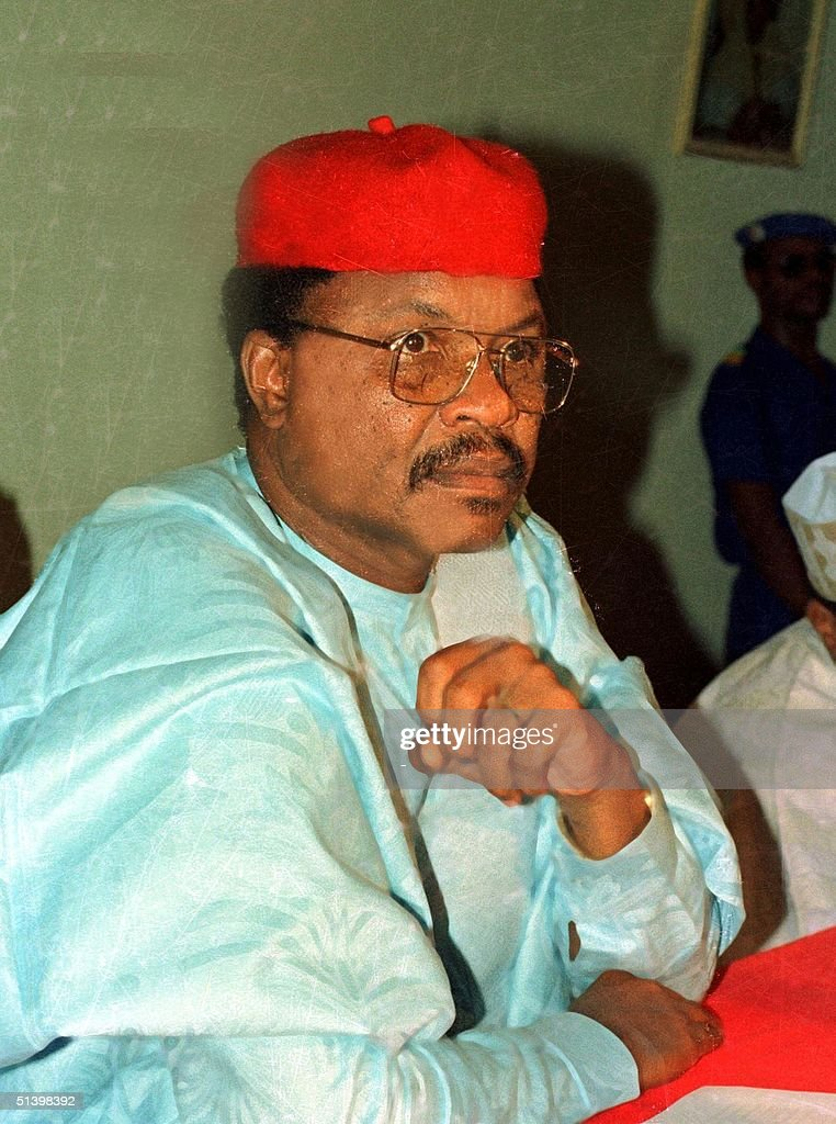 Recent picture of Niger's presidential candidate M : News Photo