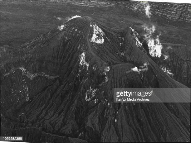 A recent shot taken of Kar Kar volcano several miles off Madang Papua New Guinea The picture was taken by Defence Public Relations photographer Bruce...