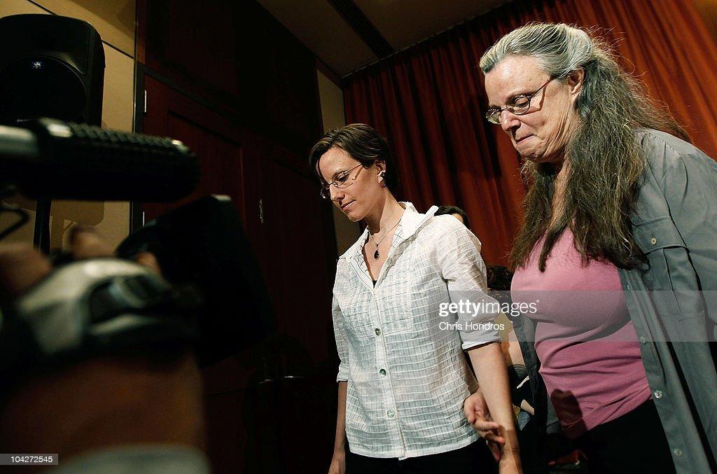 Hiker Held In Iran Sarah Shourd Speaks To The Media In New York