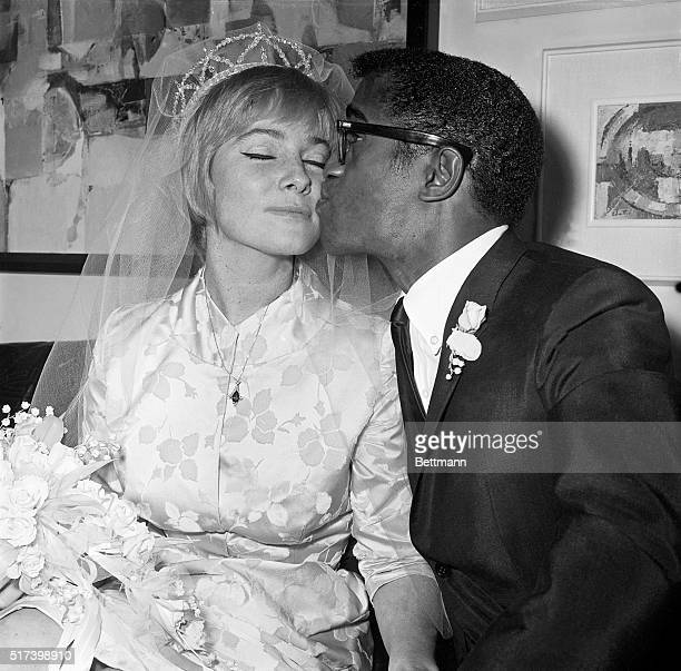 Reception following wedding of May Britt and Sammy Davis, Jr. On November 13, 1960.