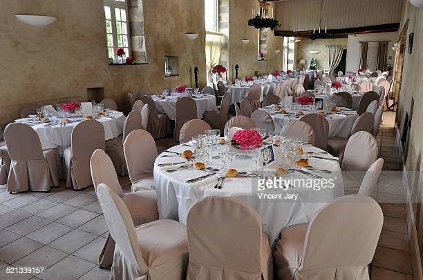 reception hall - banquet hall stock pictures, royalty-free photos & images