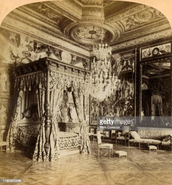 'Reception Room of Catherine de Medicis, palace of Fontainebleau, France', 1889. The apartments of Catherine de' Medici , queen of France....
