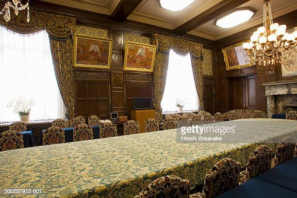 Reception room of chairman in house of counsellors