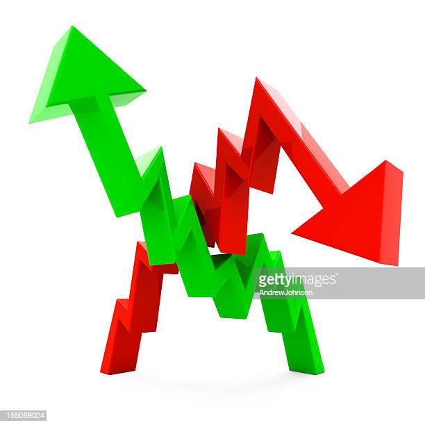 Recessione crescita grafico