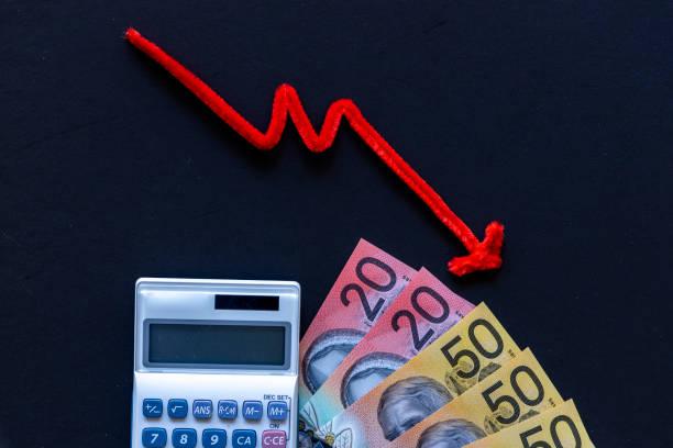 Recession in Australia.