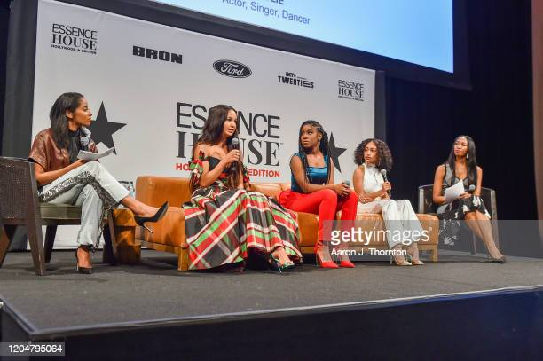 Rechelle Dennis Founder of Girls United Actress Sofia Wylie Actress Lyric Ross Actress Lexi Underwood and JoiMarie McKenzie Senior Entertainment...
