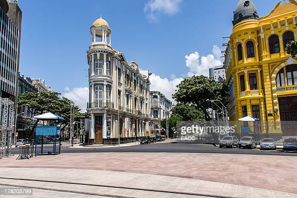 recife old town - recife stock pictures, royalty-free photos & images
