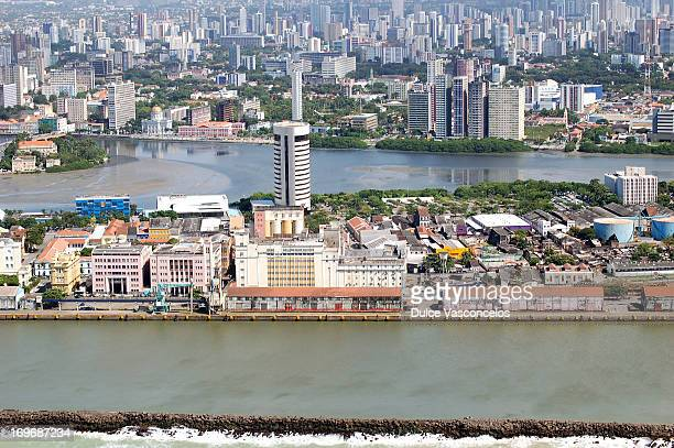 Recife seen from above.
