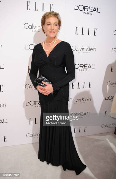 Recipient of L'Oreal Paris Legend Award Julie Andrews attends the 16th Annual ELLE Women in Hollywood Tribute at the Four Seasons Hotel on October 19...