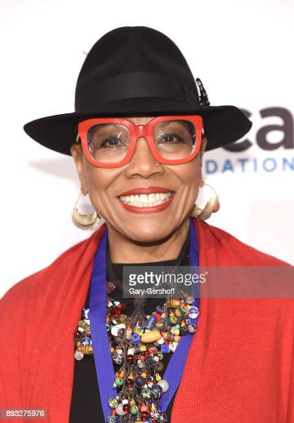 Recipient of the ASCAP Foundation Champion Award Dee Dee Bridgewater attends the ASCAP Foundation Awards 2017 at Jazz at Lincoln Center on December...