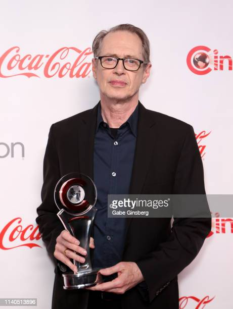 Recipient of the Cinema Icon Award actor Steve Buscemi attends the CinemaCon Big Screen Achievement Awards at Omnia Nightclub at Caesars Palace on...