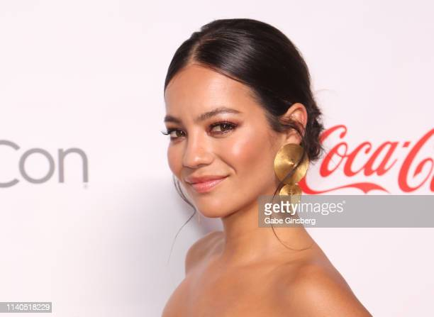 """Recipient of the CinemaCon Ensemble Award for the upcoming movie """"Terminator Dark Fate"""" actress Natalia Reyes attends the CinemaCon Big Screen..."""