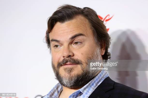 Recipient of the CinemaCon Visionary Award actor/singer Jack Black attends the CinemaCon Big Screen Achievement Awards at Omnia Nightclub at Caesars...