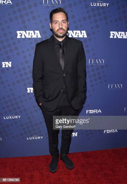 Recipient of the Collaborator of the Year Award Ronnie Fieg attends the 31st FN Achievement Awards at IAC Headquarters on November 28 2017 in New...
