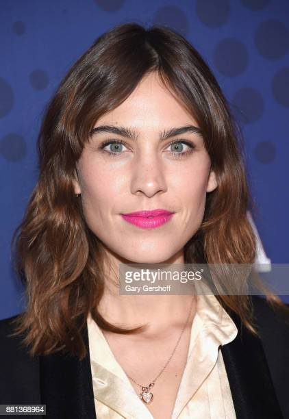 Recipient of the Launch of the Year Award Alexa Chung attends the 31st FN Achievement Awards at IAC Headquarters on November 28 2017 in New York City