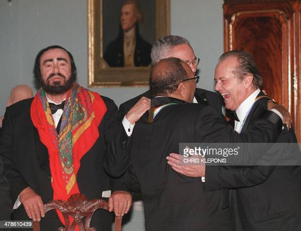 Recipients of the 24th annual national celebration of the 2001 Kennedy Center Honors actor Jack Nicholson and music producer and composer Quincy...