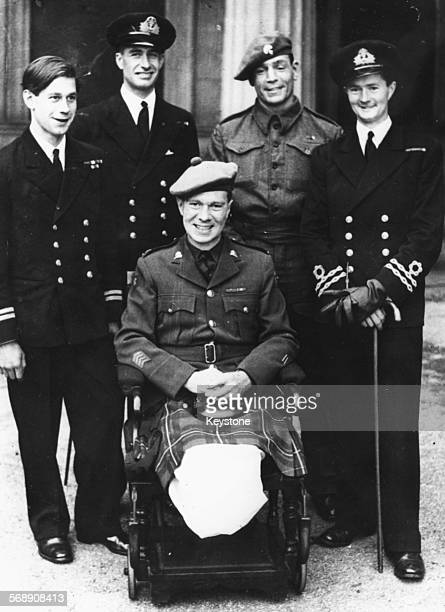 Recipients of the Victoria Cross Lieutenant Basil Place Lt Commander Stephen Beattie Lance Corporal Harry Nicholls Lieutenant Donald Cameron and...