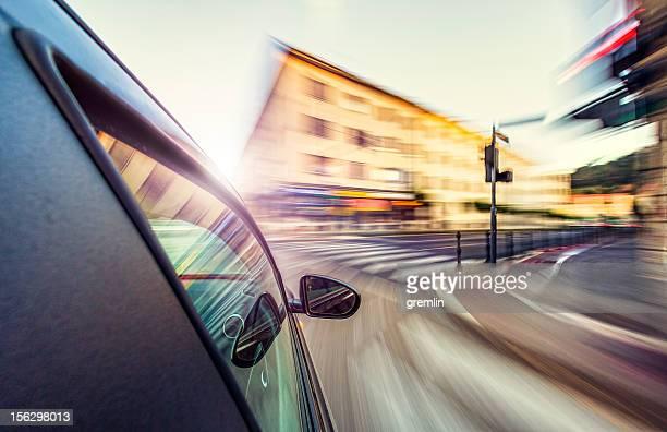 Reckless speeding on the European streets