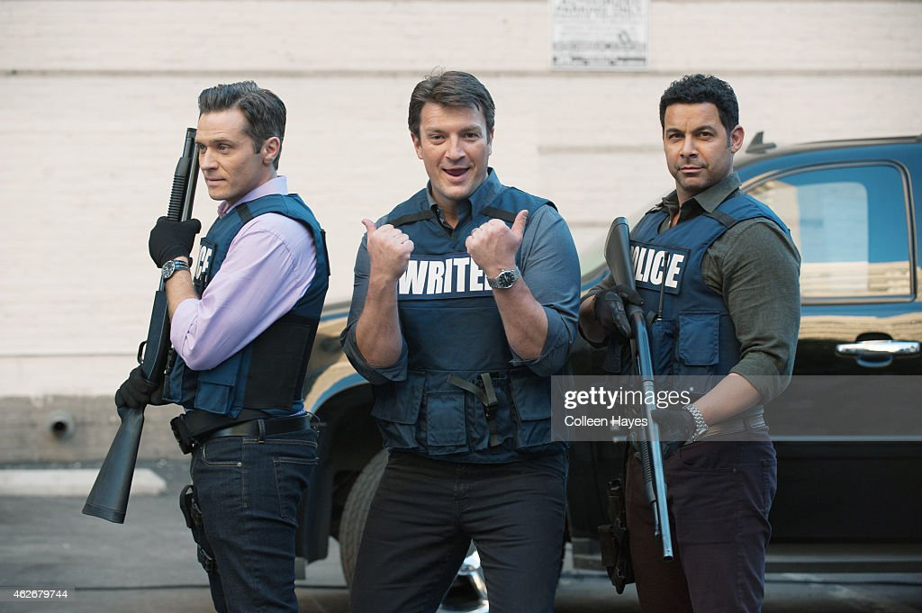 ABC's 'Castle' - Season Seven : News Photo