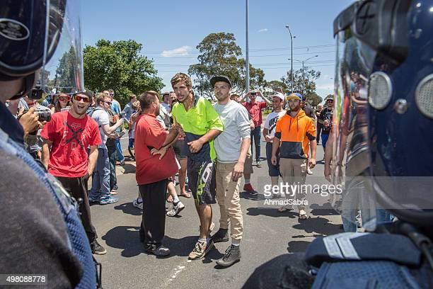 Reclaim Australia rally