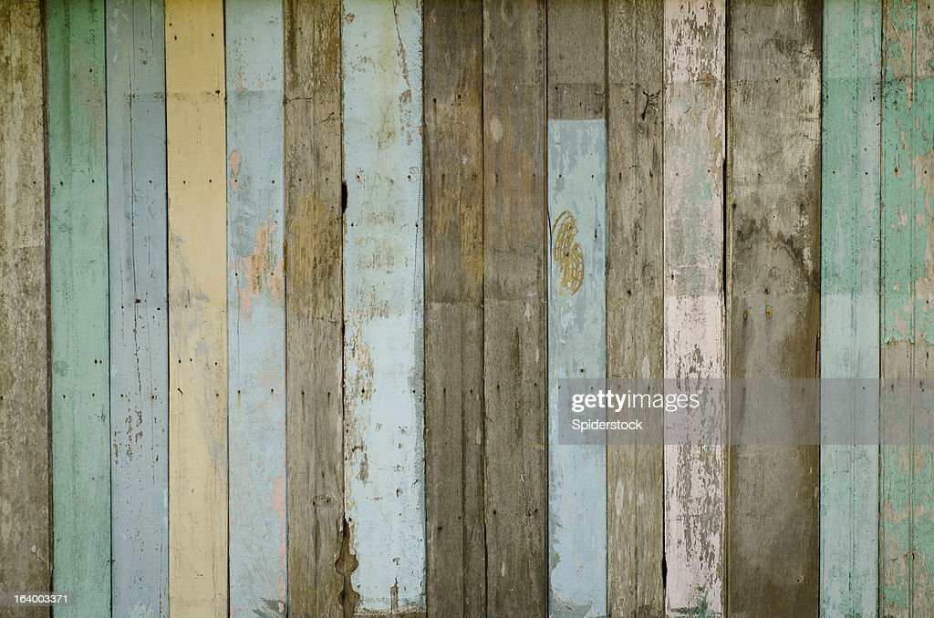 Reclaimed wood background stock photo getty images for Where to find reclaimed wood for free