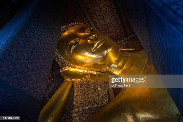 Reclining Buddha Wat Pho. Bangkok. Thailand