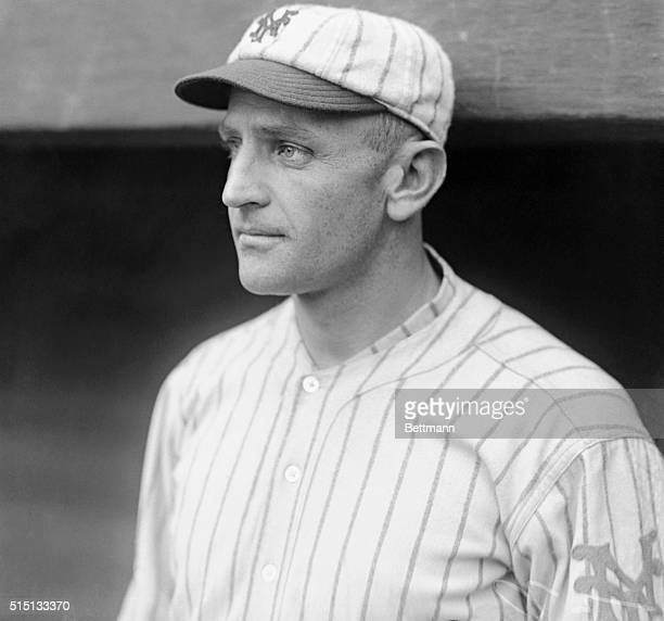 Recognize this New York Giant star of 1922? This is 35 years old, but the face was still pretty much the same, and it still made baseball news. It's...