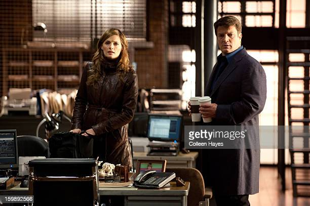 CASTLE 'Recoil' While investigating the murder of a young woman Castle and Beckett find evidence that links her death with Senator William H Bracken...