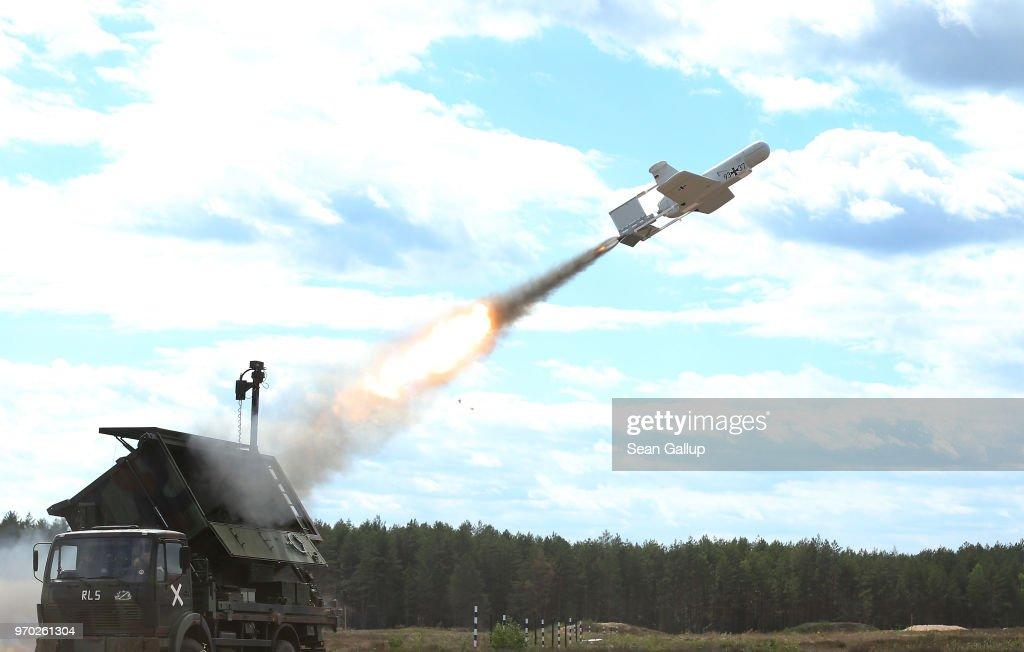 Lithuania Holds 2018 NATO Thunder Storm Military Exercises : News Photo