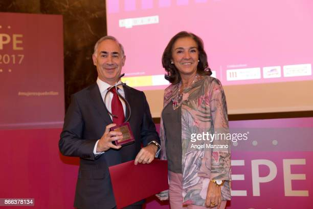Reconnect by Vodafone attends Fedepe awards on October 25 2017 in Madrid Spain