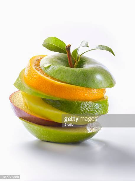 Reconstituted apple