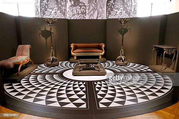 Reconstruction of the Bathroom created by the French Art Deco cabinet maker Armand Albert Rateau for the private apartments of the Duchess of Alba...