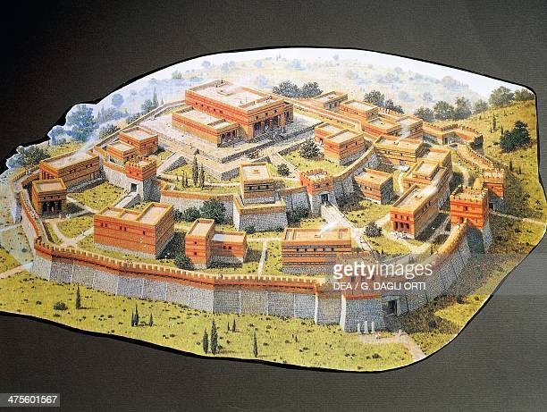 Reconstruction of the Homeric city of Troy Turkey