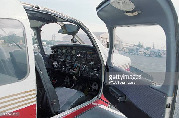 Reconstruction Of The Last Journey Of John John Kennedy And His Wife Carolyn Aboard Private Plane 'Piper Saratoga Ii' One Year After The Fatal...