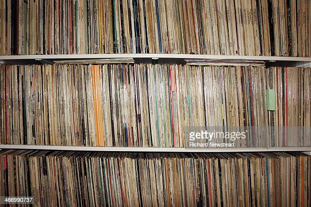 record collection - collection photos et images de collection