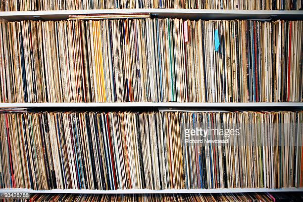 record collection - image stock pictures, royalty-free photos & images