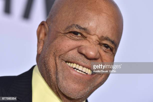 Record executive Berry Gordy arrives at the 2017 American Music Awards at Microsoft Theater on November 19 2017 in Los Angeles California